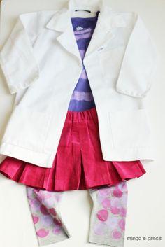 Diy childrens doctor costume pinterest doctor costume doctor diy doc mcstuffins costume solutioingenieria Images