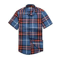 Burberry Men Shirt 2014-2015 BTS303
