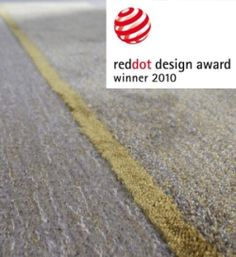 Connect rug by Carpet Sign (Red Dot design award)