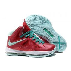 separation shoes 10c40 276ae Nike Lebron 10 Red White Green G07026 Red Green, Online Shopping Shoes,  Lebron James