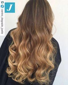 The one and only...Degradé Joelle! #cdj #degradejoelle #tagliopuntearia #degradé #igers #musthave #hair #hairstyle #haircolour #longhair #oodt #hairfashion #madeinitaly #workhairstudiovittorio&tiziana #roma #eur