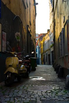 "ANTWERPEN Vespa & Antwerpen Streets. Must be included in your #Antwerp #travel #BucketList #list #local. To discover and collect amazing bucket lists created by local experts, visit ""City is Yours"" http://www.cityisyours.com/explore."