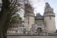 Château de Pierrefonds - entrée principale