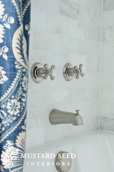 Love this shower curtain sneak peak from @Miss Mustard Seed !