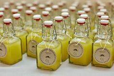 Beautiful Bridal: DIY Limoncello Wedding Favors