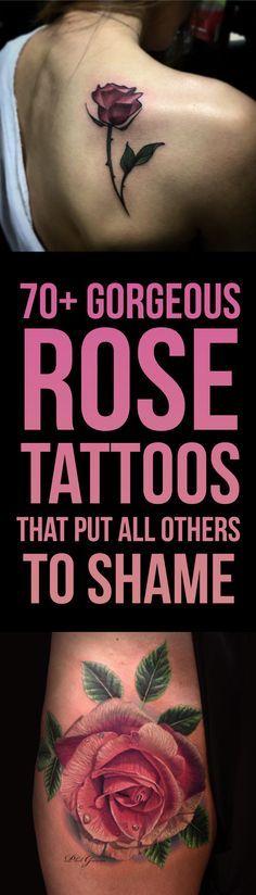 70+ Gorgeous Rose Tattoo Designs | TattooBlend
