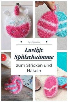 Die 121 Besten Bilder Von Spülschwämme In 2018 Knit Crochet