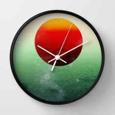 In the end, the sun rises Wall Clock by Budi Satria Kwan | Society6