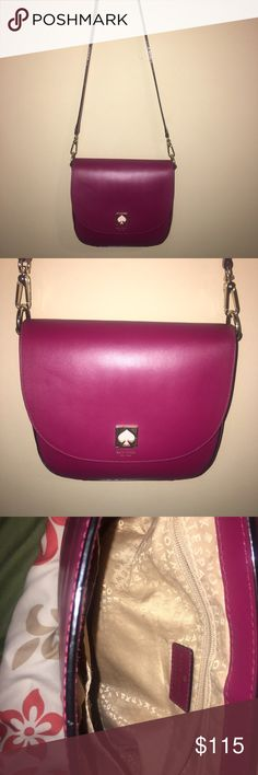 Kate Spade crossbody purse Super cute, i have not had it longer than 4 months. Still in great condition. Kate Spade purse , 100% authentic kate spade Bags Crossbody Bags