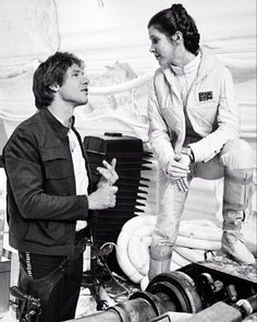Harrison Ford & Carrie Fisher  Star Wars