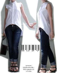 DIY - Uzun Kısa Gömlek
