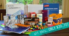 Deals on school supplies from the Krazy Coupon Lady