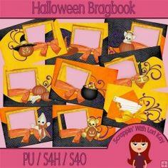 Halloween Brag Book