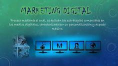 Diseño creado con el concepto de Marketing Digital.