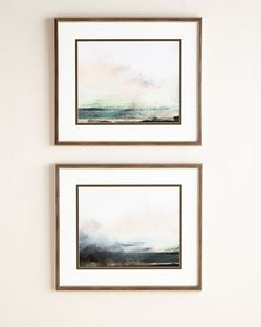 "Two ""Pranava Sunrise"" Giclees at Neiman Marcus."