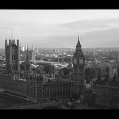 London from the sky...