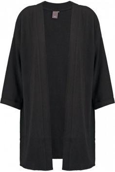 Americana/ Kimono en color negro.