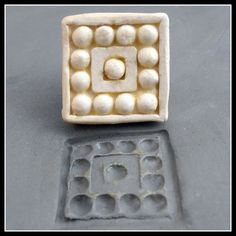 bisque Clay stamp