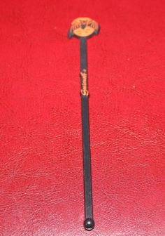 Rare Vintage Smirnoff Swizzle Stir Stirrer Stick HALLOWEEN Bat