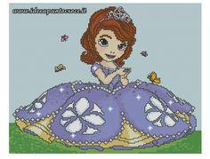 Principessa Sofia punto croce