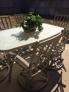 Patio table & 6 chairs  New Divide & Conquer sale starting this Thursday, March 3-5; check out the details here:  http://divideandconquerofeasttexas.com/nextsales.php  #estatesales #consignments #consignment #tyler #tylertx #tylertexas #organizing #organizers #professionalorganizer #professionalorganizers #movingsale #movingsales #moving #sale #divideandconquer #divideandconquerofeasttexas #divideandconquereasttexas #marthadunlap #martha #dunlap