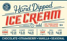 "inspireanddesign: "" (via Typography / Big icecream — Designspiration) """
