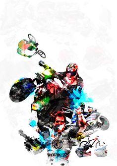 Illustrations for Wheel-e, print and digital magazine. Digital Magazine, My Works, Darth Vader, Behance, Profile, Illustrations, Fictional Characters, User Profile, Illustration