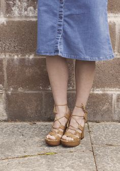 schuh Limbo - the perfect day to night heel for summer.
