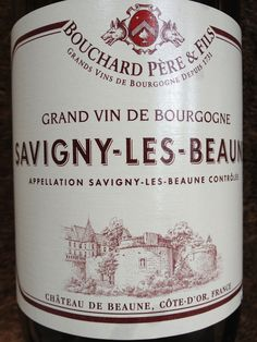 Reliable Pinot Noir from Bouchard Pere & Fils available from Waitrose. £16.99