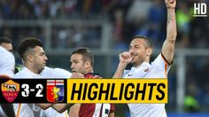 The Football Match Between Roma vs Genoa. After a Very Important Last Minute Goal by Diego Perotti, The Final Result of The Game is Roma Genoa. Watch Football, Football Match, Italian League, Match Highlights, Genoa, Goals, Baseball Cards