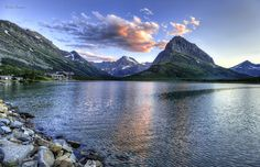 Many Glacier in the morning | by Deby Dixon