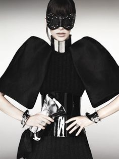 #MarieClaire - Objects of Desire, Sept. 2011 #black