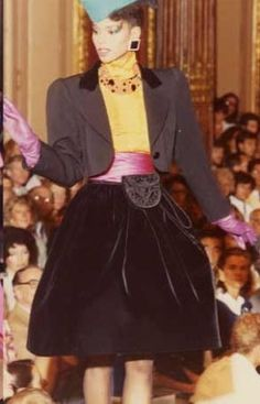 1982-83 - YSL Couture show