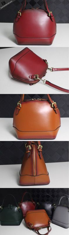 Leather handbag shoulder bag yellow brown black red gray for women leather crossbody bag - imitation handbags, handbags & purses, custom handbags