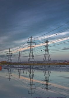 Power Lines and Reflections