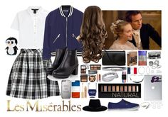 """""""Marius // Les Miserables"""" by thegryffindorcompanion ❤ liked on Polyvore featuring Marc by Marc Jacobs, Rebecca Minkoff, Yves Saint Laurent, GUESS, Pieces, Kate Spade, Forever 21, CellPowerCases, Casetify and Bling Jewelry"""