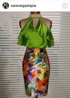 Dressy Outfits, Skirt Outfits, Stylish Outfits, Casual Dresses, Cute Fashion, High Fashion, Womens Fashion, Couture Dresses, Fashion Dresses