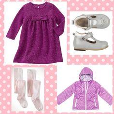 Bugünün Rengi Mor Olsun  Tarz Kızlarınız İçin Seçtiklerimiz Gymboree Purple Star Triko Elbise 10490 TL Bebbini Gri Cırtlı İlk Adım Unisex Çocuk Ayakkabısı 14990 TL Puledro Kids Kız Bebek Mont 9233 TL Ralph Lauren 2 Adet Tayt Set - Pembe 5900 TL #mor #tarzkız #cicikızlar #kızçocuk #markabebe
