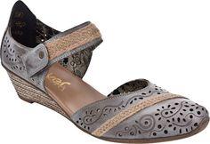 Rieker 48156 Mirjam Me Too Shoes, Wedges, Sandals, Fashion, Moda, Shoes Sandals, Fashion Styles, Fashion Illustrations, Sandal