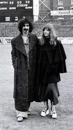 Frank + Gail Zappa