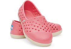 Pink Tiny TOMS Rompers | TOMS