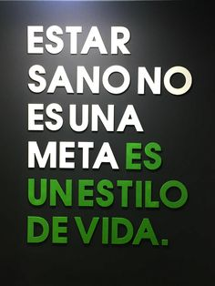 Fitness quote from Sano, a new personal training space in Granada. Read on for further details!