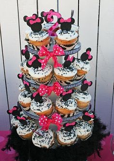 Heavenly Blooms: Kate's Minnie Mouse Birthday Party