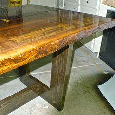 Claro Walnut Tree Slab Table by RusticAlchemy on Etsy #Reclaimedwood #Reclaimedlumber #Custom #Denver #Claro #Walnut #Colorado #Modern #Rustic #Homedecor #Homedecoration #Oneofakind #SolidWood #Salvagedwood #Nakashimastyle #Furniture #Homeandliving #Woodjoinery #Reclaimed #Conferencetable #Receptiondesk #Butterflyjoint