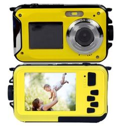 Waterproof Camera,KINGEAR Inch LCD 16 MP Zoom Digital Camera with Underwater Waterproof(yellow) *** Details can be found by clicking on the image. Top Digital Cameras, Best Digital Camera, Best Camera, Camera Shop, Camera Case, Mini Camera, Photography Camera, Underwater Photography, Photography Tips