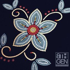 The Bandolier Anishinaabe artist Sarah Agaton Howes is an Inspired Native who is all about thriving - not simply surviving. If you agree, this organic cotton tote bag, w Native Beading Patterns, Beadwork Designs, Seed Bead Patterns, Native Beadwork, Native American Beadwork, Art Patterns, Knitting Patterns, Weaving Patterns, Color Patterns