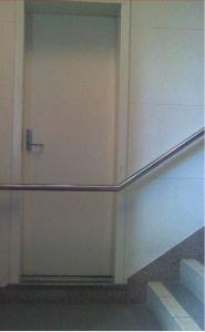 Building Fail. Trust me, I'm an engineer. On the other hand it may be a limbo dancer's apartment.