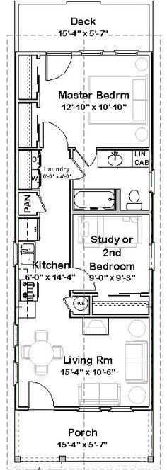 Shotgun house plans on pinterest shotgun house shotguns for 2 bedroom shotgun house plans
