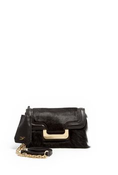 New Harper Charlie Haircalf Mini Bag by Diane Von Furstenber