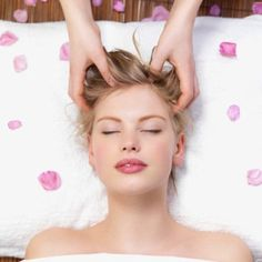 Give your scalp a gentle massage to help stimulate the cells and keep it healthy. 6 more tips for a healthier scalp: http://www.esalon.com/blog/healthy-scalp/
